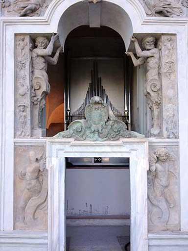 L'organo di villa d'Este a Tivoli (RM)
