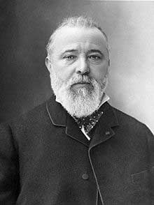 Il belga Zénobe-Théophile Gramme (4 aprile 1826 – 20 gennaio 1901)