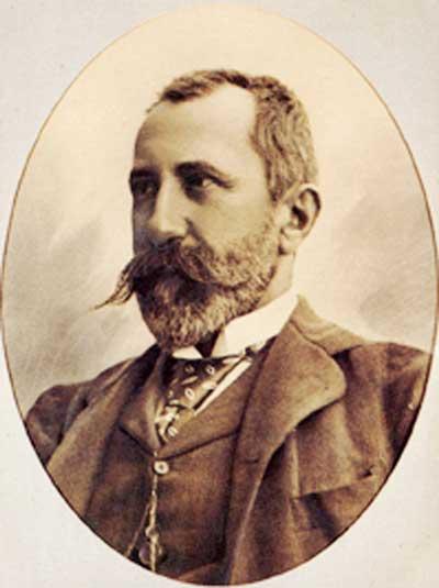 L'ing. Giuseppe Colombo (18 dic. 1836 – 16 genn. 1921).