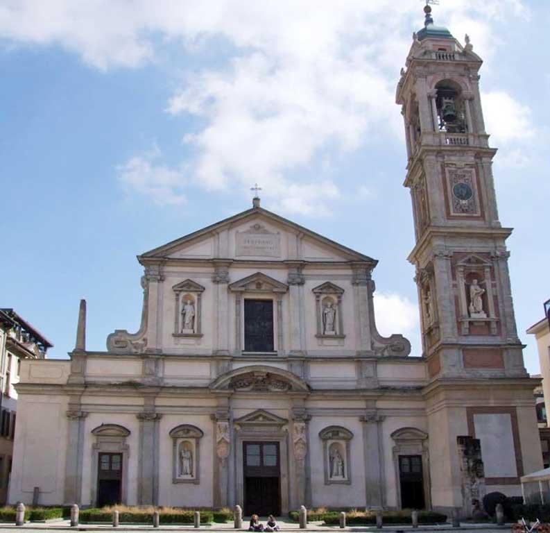 La bella chiesa di S. Stefano Maggiore a Milano; il luogo di culto si trova a due passi da ciò che era la centrale Edison di Via S. Radegonda.