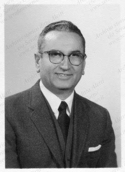 Enrico Aletti nel 1969.